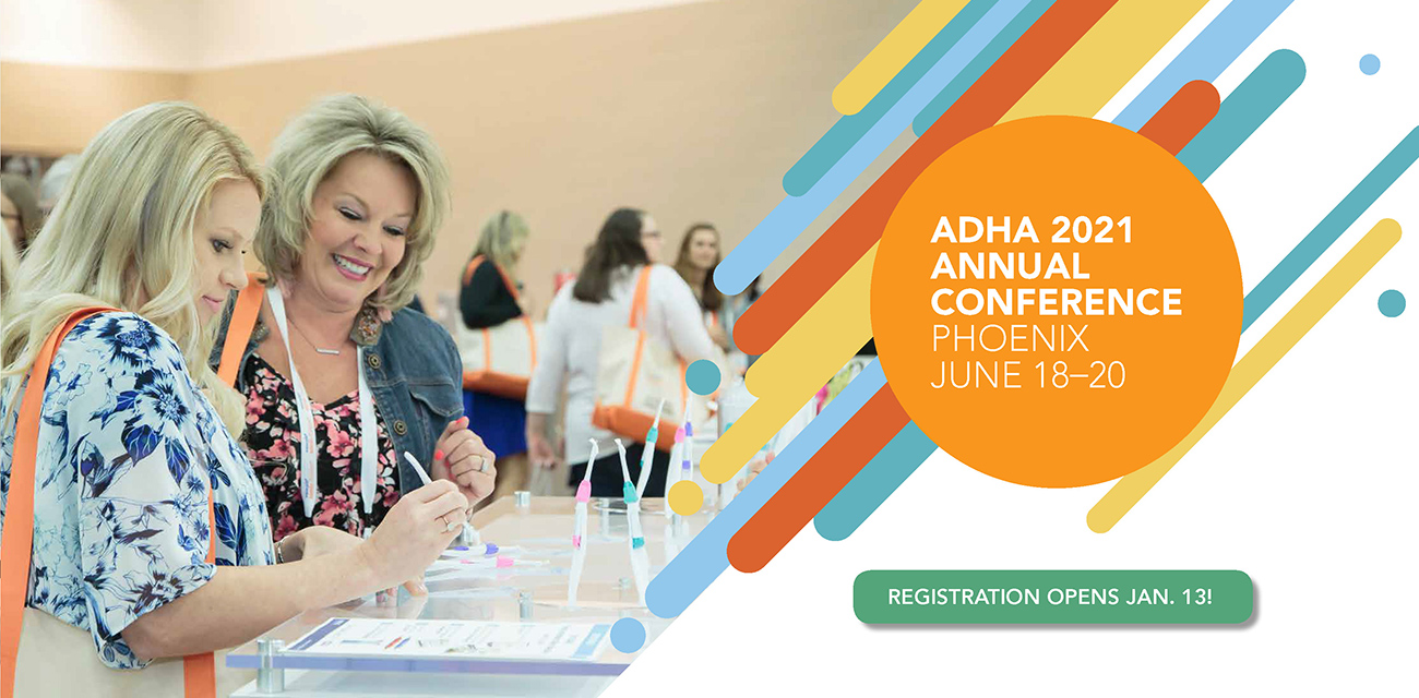 ADHA Conference Info Slide